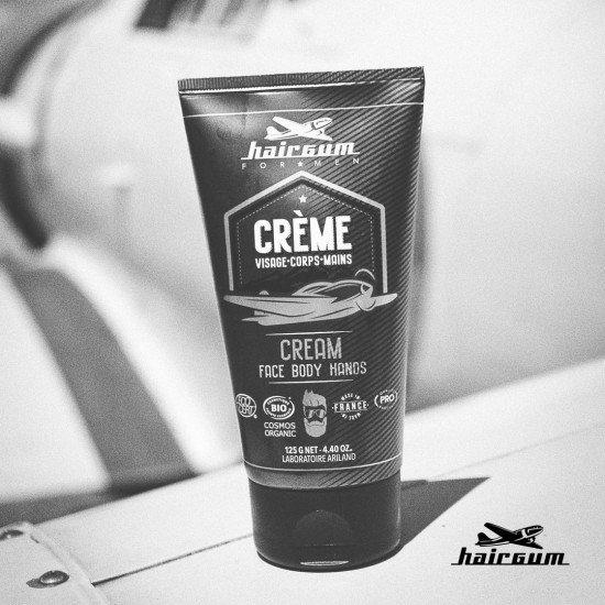 Крем для обличчя, рук і тіла Hairgum Cream For Men